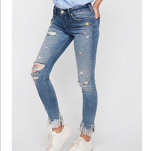 Express Mid Rose Legging Jeans